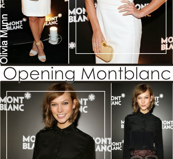 Dois looks no Opening Montblanc!