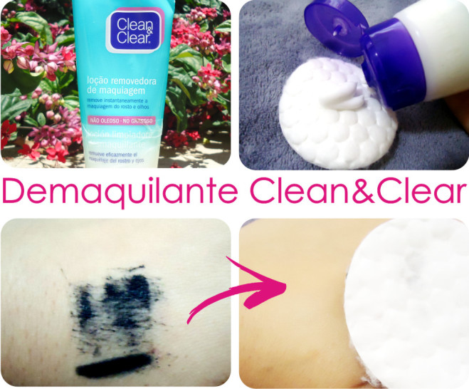 Resenha Demaquilante Clean and Clear 2