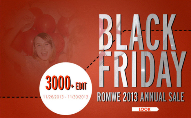 Black Friday na Romwe!