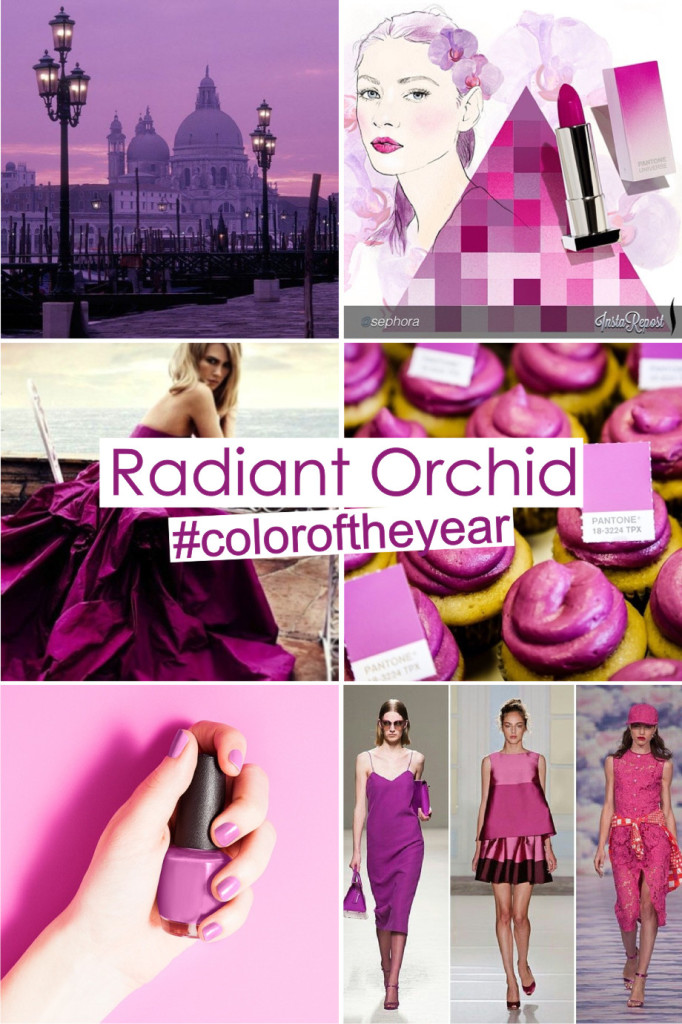 Pantone Radiant Orchid Color of The Year 2014 2