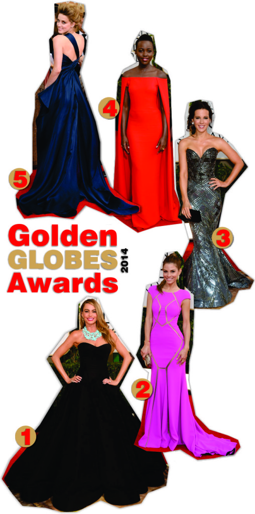 Golden Globes Awards 2014 Looks 1