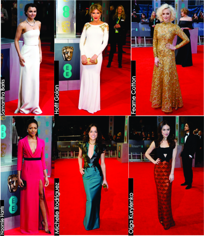 BAFTA Awards 2014 Looks Celebs 5