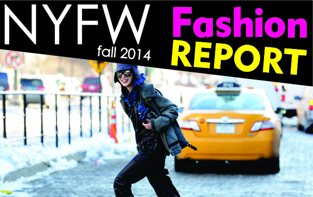 NYFW Fall 2014 Fashion Report Looks 1