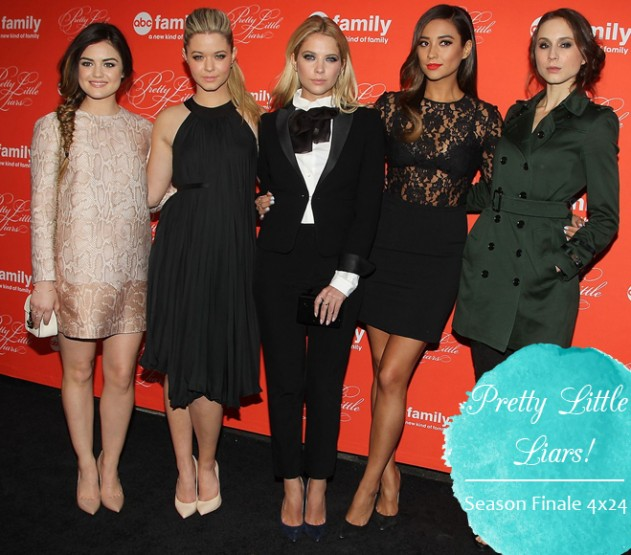 Os Looks do Elenco de Pretty Little Liars!
