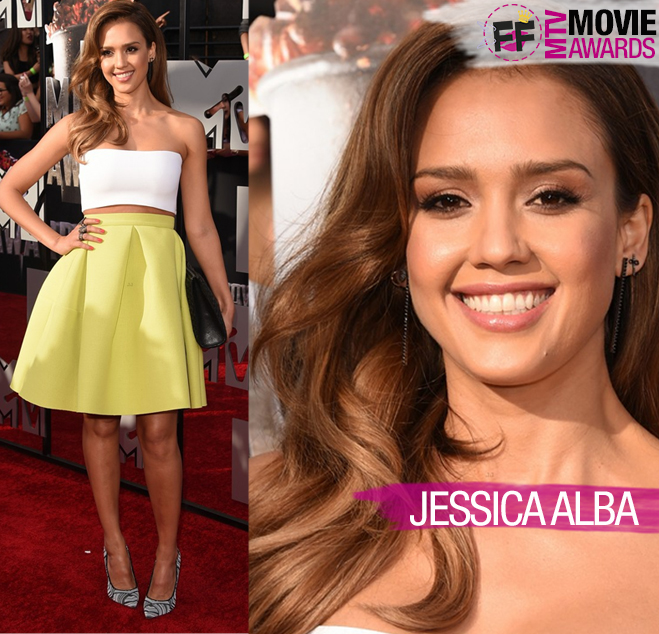 MTV MOVIE AWARDS Jessica Alba