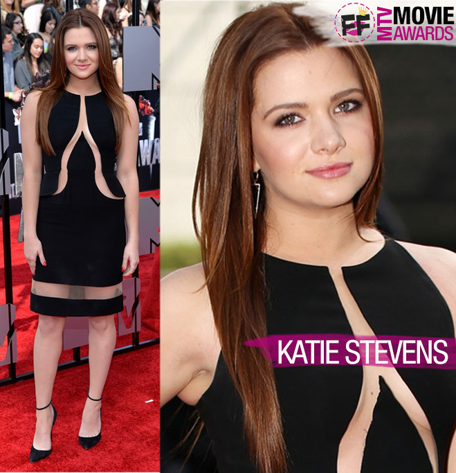 MTV MOVIE AWARDS Katie Stevens