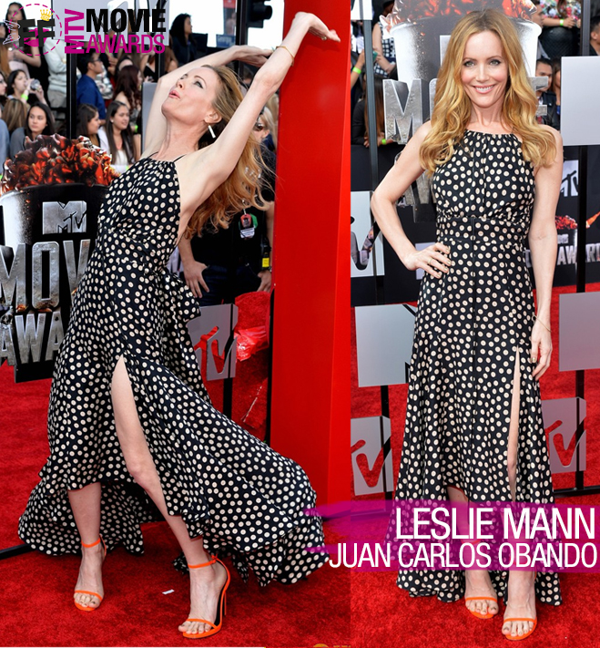 MTV MOVIE AWARDS Leslie Mann