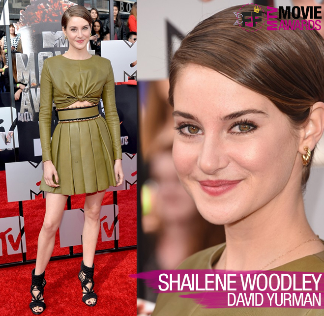 MTV MOVIE AWARDS Shailene Woodley