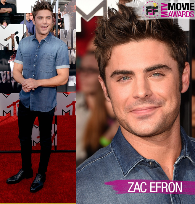 MTV MOVIE AWARDS Zac Efron