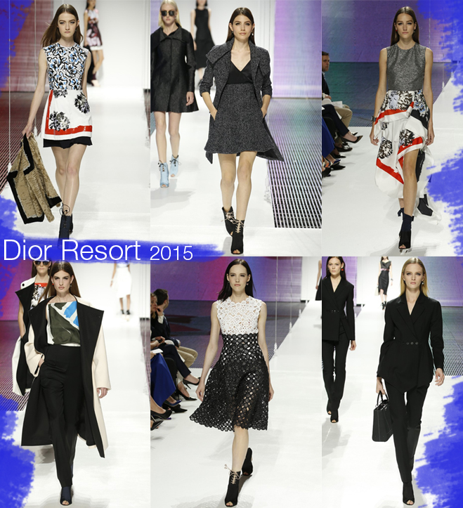 Resort 2015 Desfile Dior 2