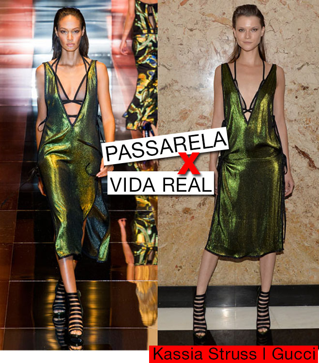 Passarela para Vida Real Gucci Stella McCartney 1