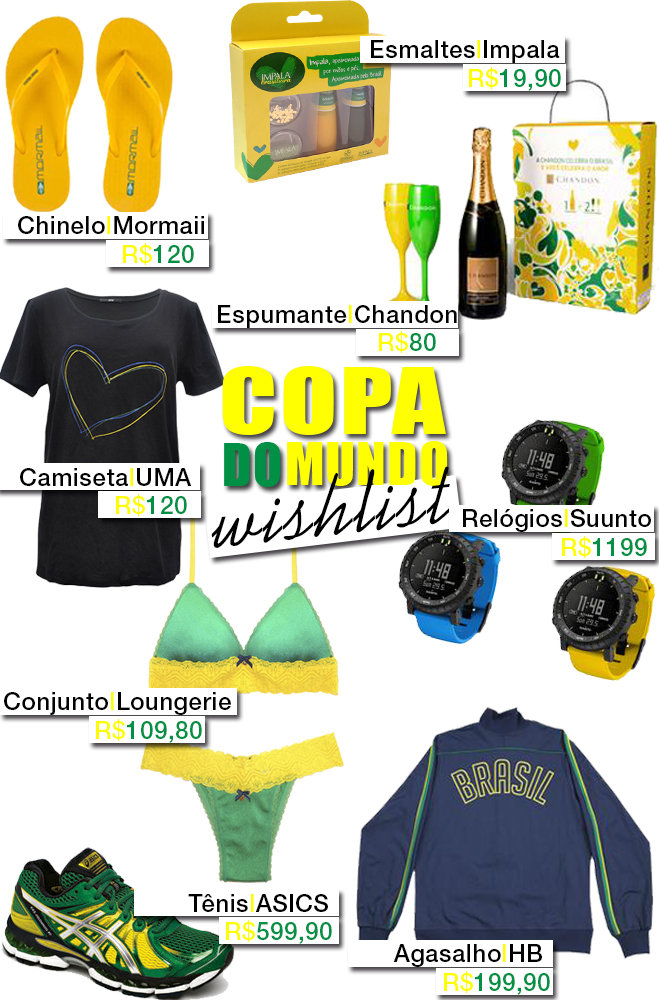 Wishlist Copa do Mundo