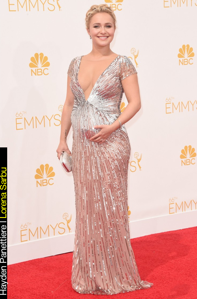 Emmy Awards 2014 Looks Hayden Pannetiere