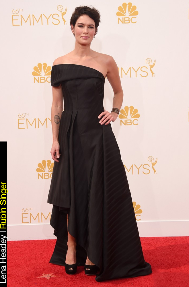 Emmy Awards 2014 Looks Lena Headey