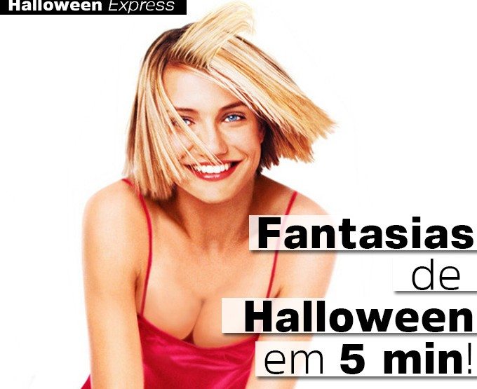 5 Fantasias de Halloween Express!