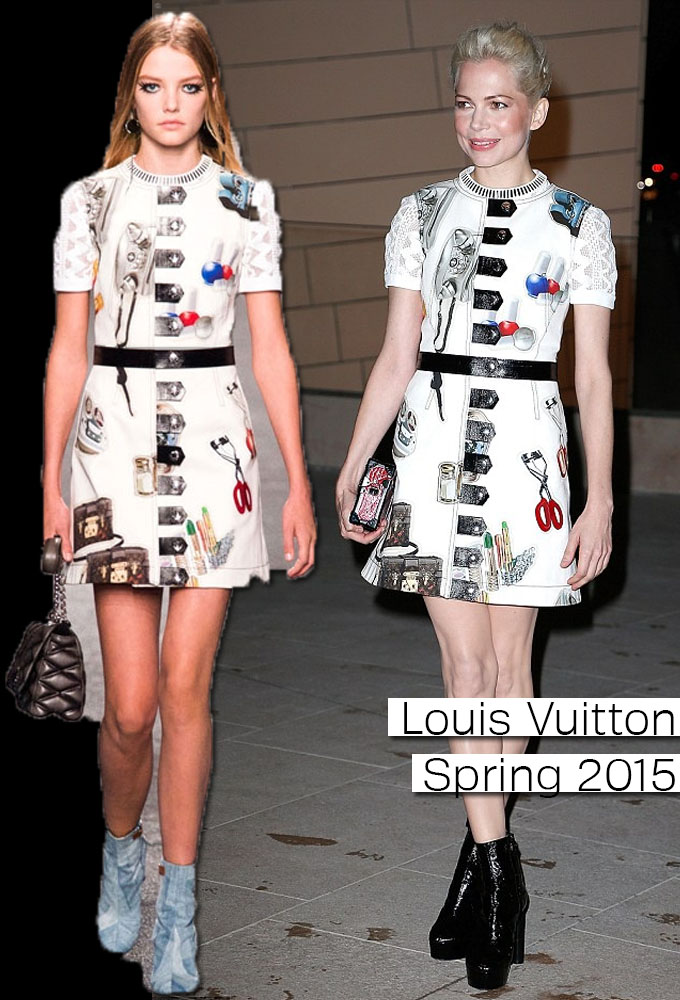 Michelle Williams Estampa Arsty Louis Vuitton1