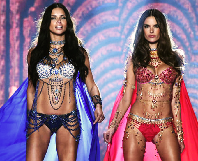 Melhores Looks do Victoria's Secret Fashion Show 2014!