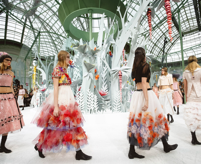 O Desfile de Chanel Couture!