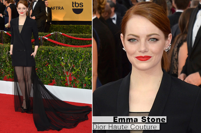 Screen Actors Guild Awards 2015 Looks 1