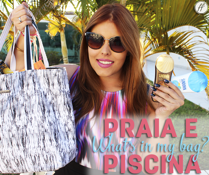 Whats in My Bag Bolsa de Praia e Piscina