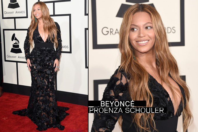 Grammy Awards 2015 Looks Beyonce