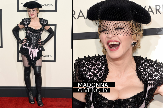 Grammy Awards 2015 Looks Madonna