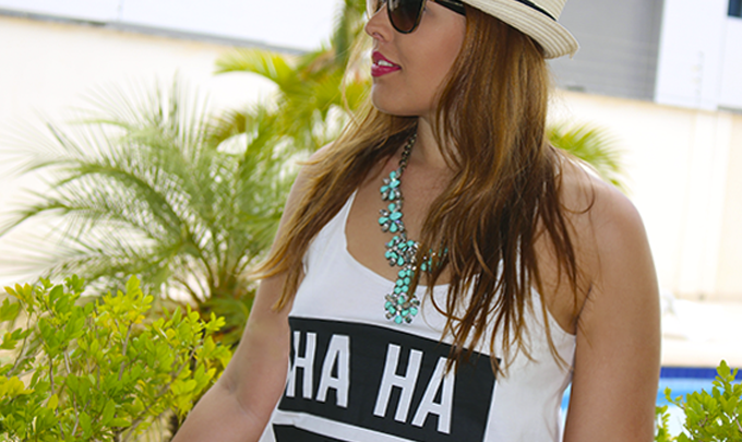 Look com Camiseta para o Final de Semana!
