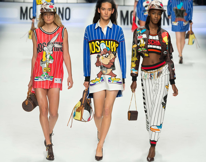 Moschino Looney Tunes Fall 2015 4