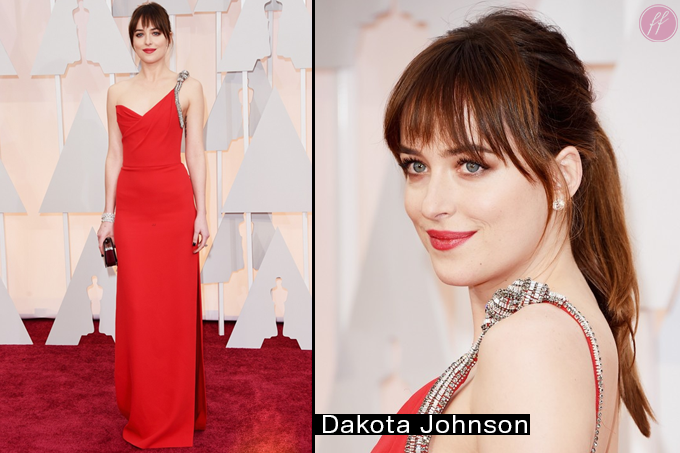 Oscar 2015 Looks Dakota Johnson