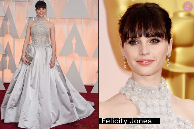 Oscar 2015 Looks Felicity Jones