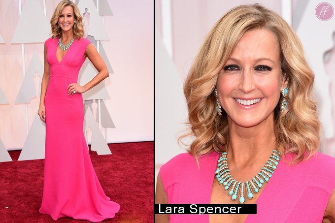 Oscar 2015 Looks Lara Spencer