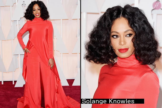Oscar 2015 Looks Solange Knowles