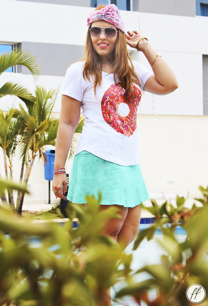Look Camiseta Donut Love Cabide 10