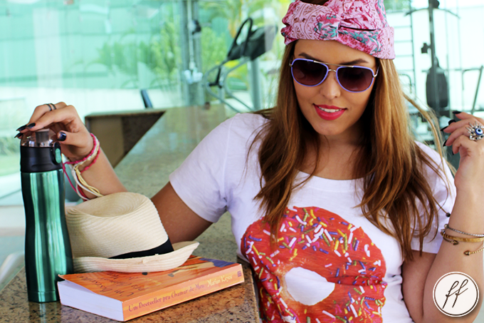 Look Camiseta Donut Love Cabide 11