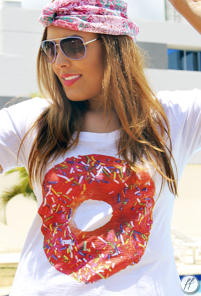 Look Camiseta Donut Love Cabide 12