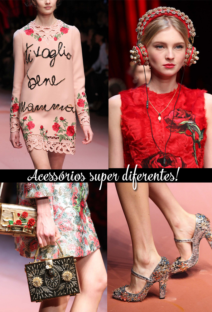 Milan Fashion Week Fall 2015 Desfile Dolce & Gabbana Mammas 2