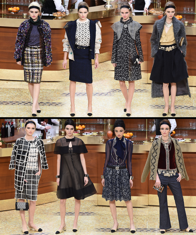 Paris Fashion Week Fall 2015 Desfile da Chanel Brasserie Gabrielle 10