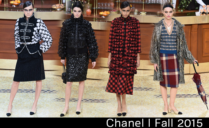 Paris Fashion Week Fall 2015 Desfile da Chanel Brasserie Gabrielle 9