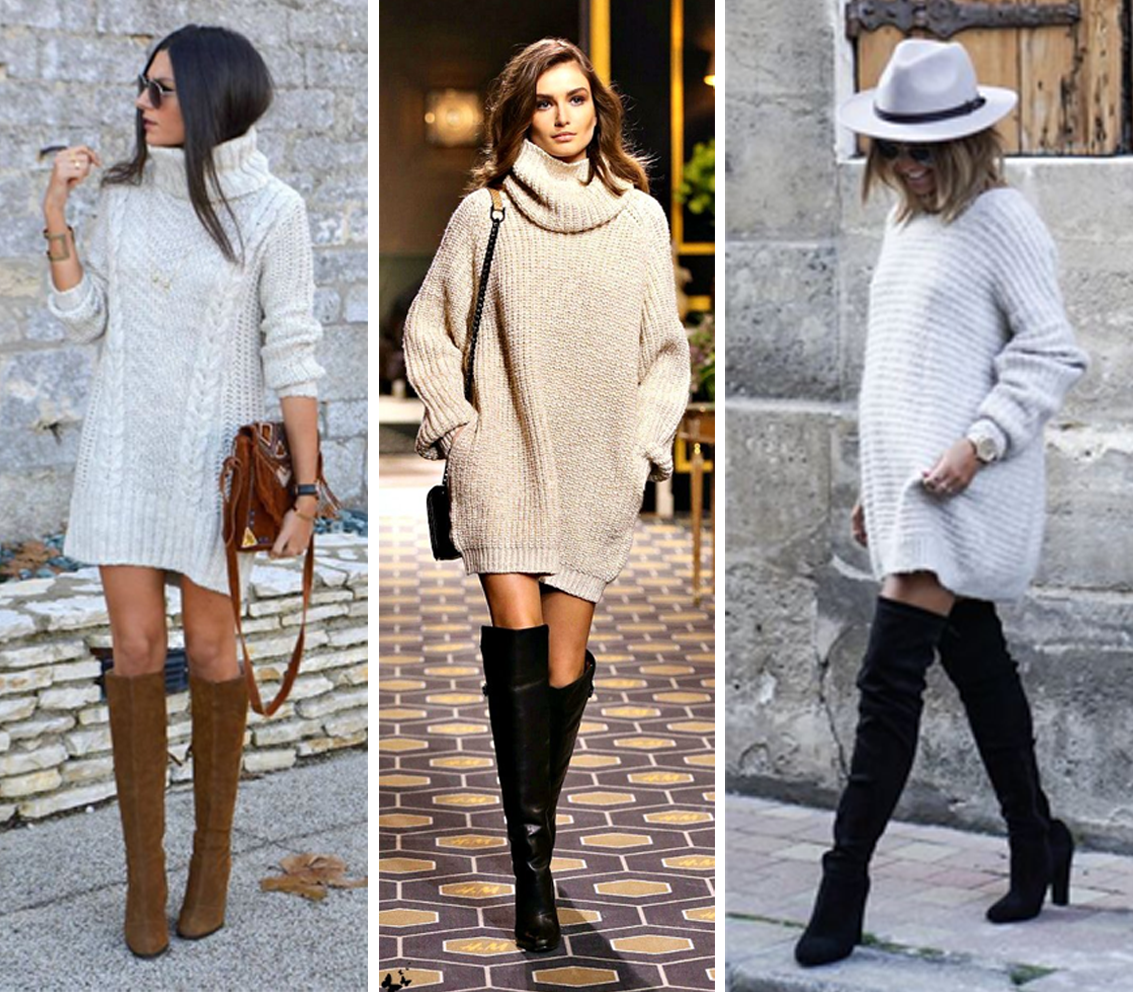 Como Usar Sweater Dress 3