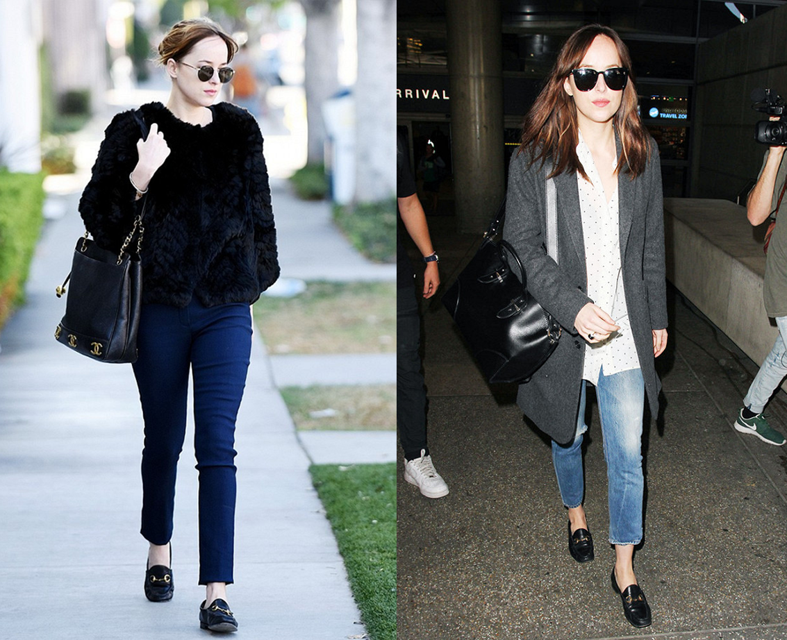8 Looks de Dakota Johnson de 50 Tons Mais Escuros na Vida Real 2