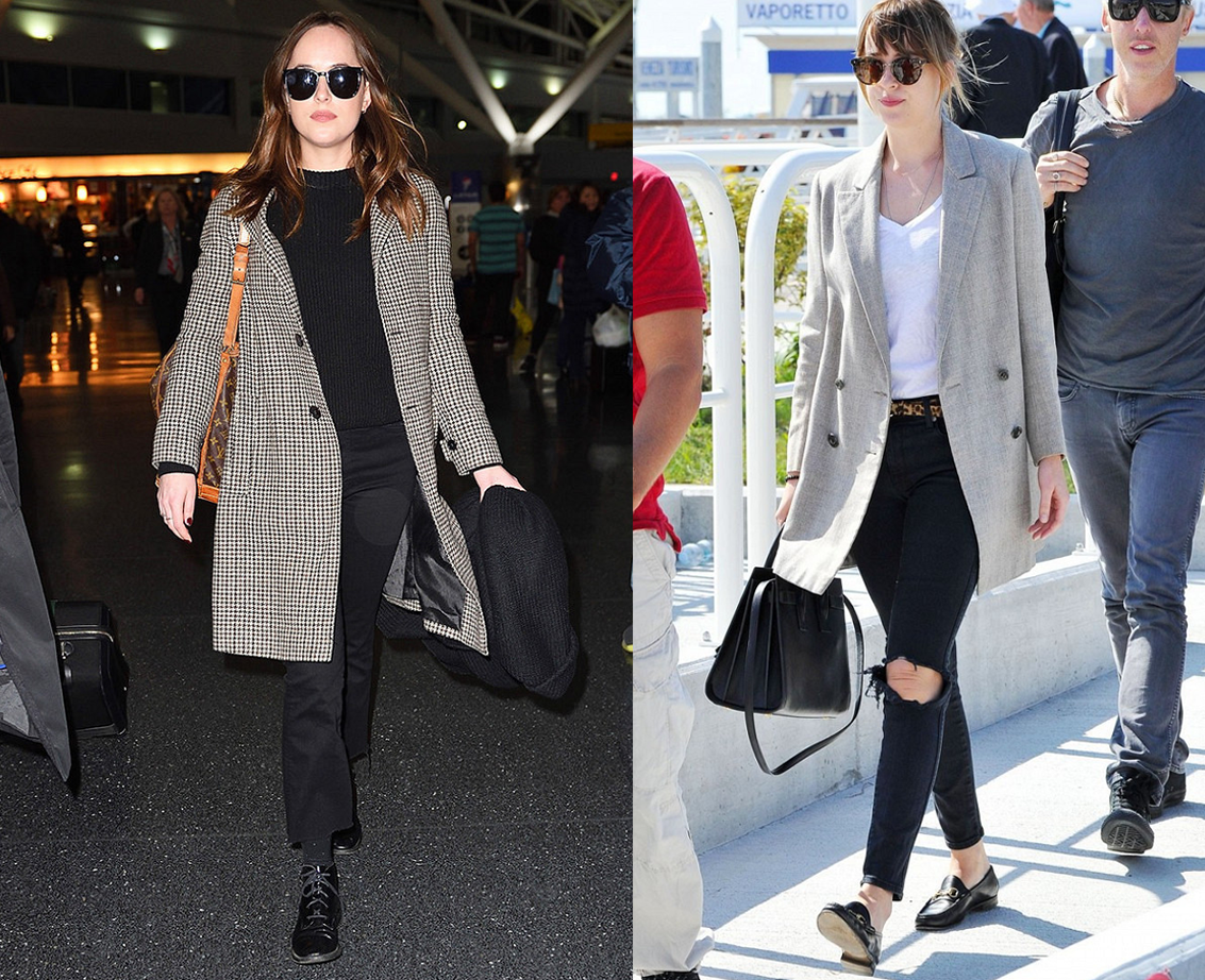 8 Looks de Dakota Johnson de 50 Tons Mais Escuros na Vida Real 4