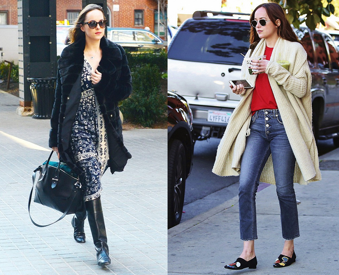 8 Looks de Dakota Johnson de 50 Tons Mais Escuros na Vida Real 5