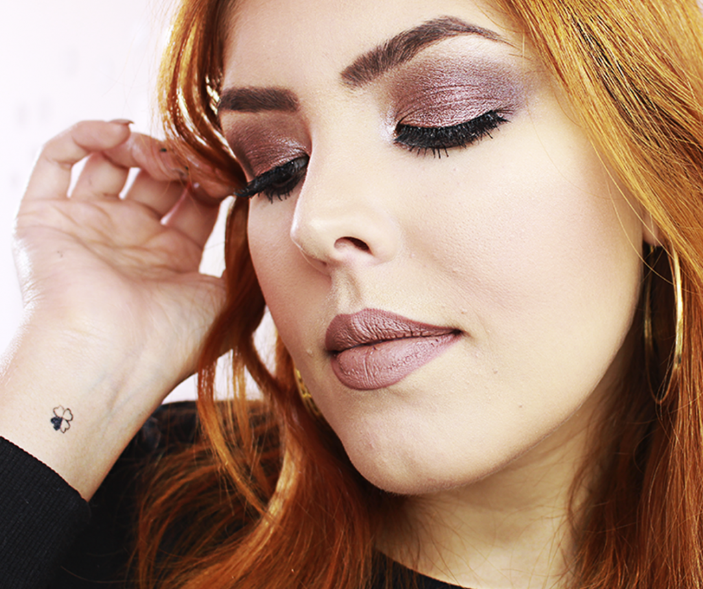 Tutorial Smokey Eyes Marrom Esfumado 3
